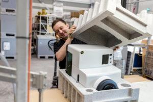 Naast de productie van kunststof producten kan HSV TMP ook verpakkingsmaterialen voor u produceren
