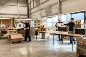 HSV-TMP is gespecialiseerd in duurzame ontwikkeling en de productie grote kunststof delen en hybride producten