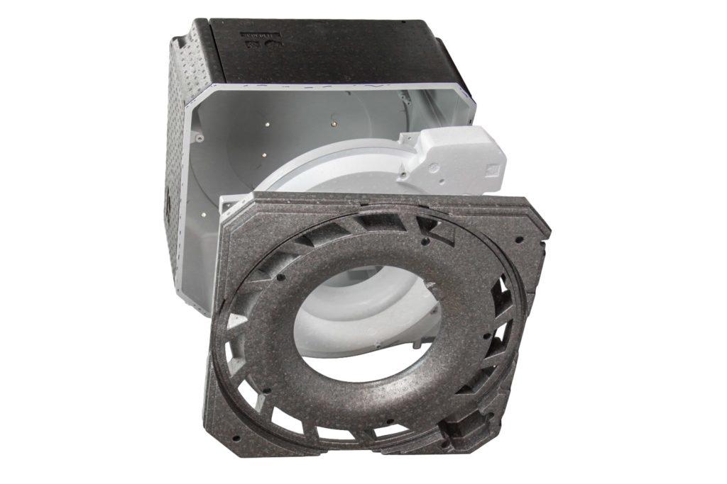 HSV TMP is specialist in het produceren van samengestelde producten - • Hybride technologie (EPS/EPP- spuitgiet/TSG combinaties)